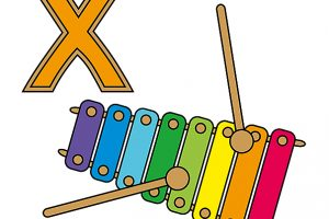xylophon clipart 9