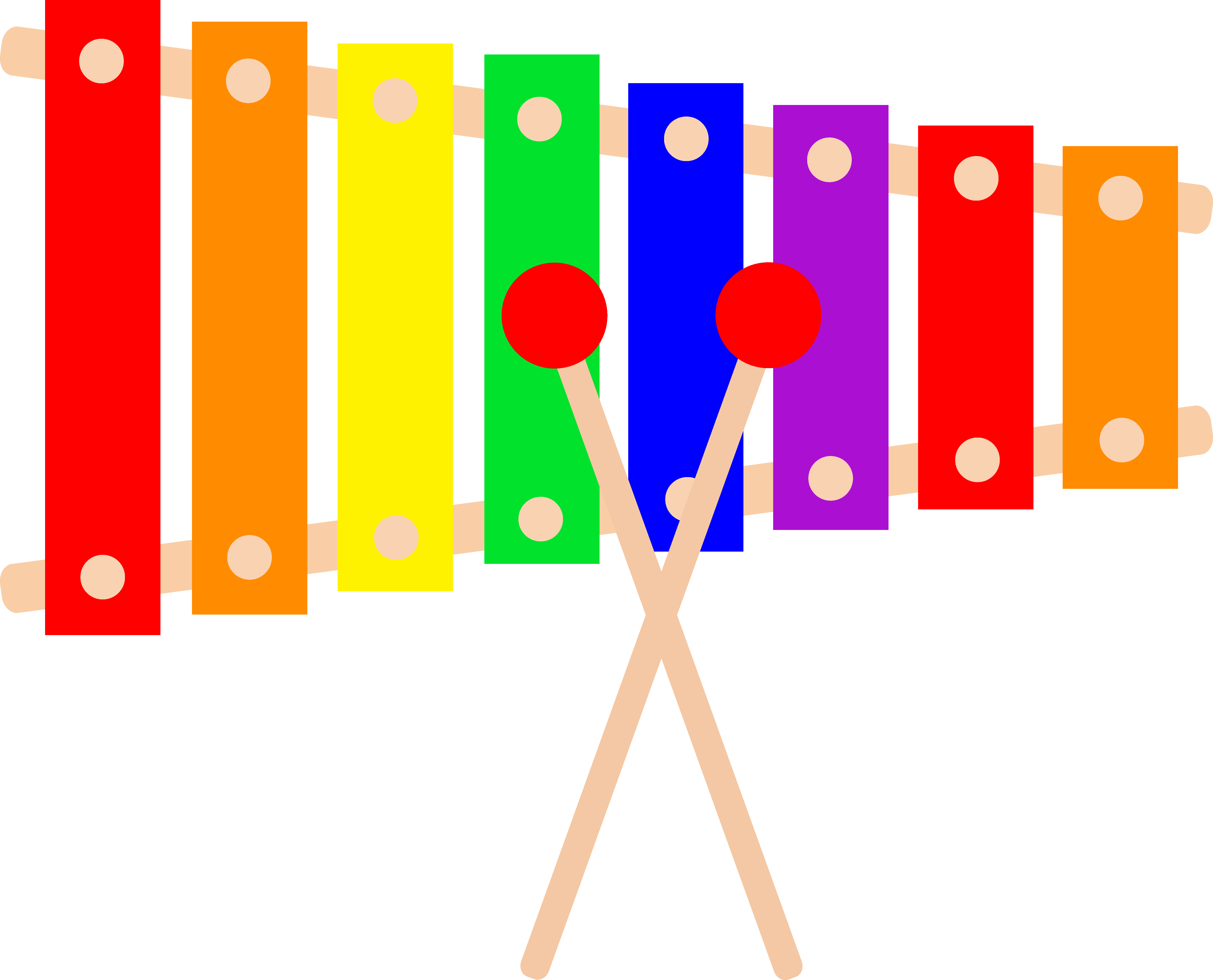 xylophone clipart 1
