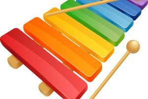 xylophone clipart 2