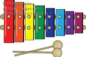xylophone clipart 4