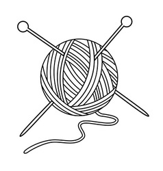 Yarn Clipart Black And White yarn clipart black and...