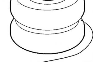 yoyo clipart black and white_8