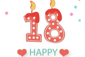 18th birthday clipart 6