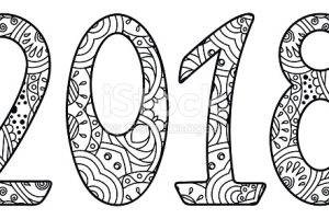 2018 clipart black and white 2
