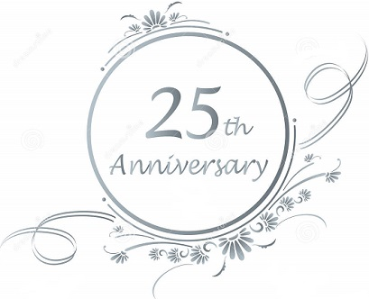 25th Anniversary Clipart Clipart Station