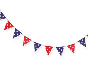 4th of july banner clipart 3