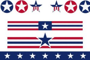 4th of july banner clipart 5