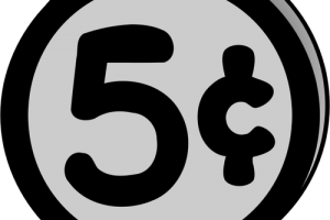 50 cents clipart