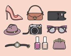 accessories clipart 9