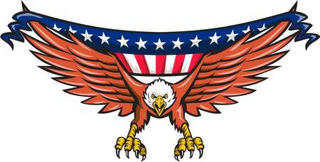 American Flag Eagle Clipart 4 Clipart Station