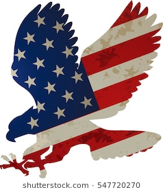 American Flag Eagle Clipart 6 Clipart Station