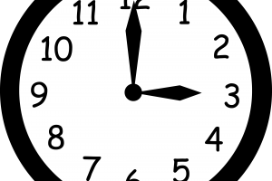 Analog clock clipart 2 » Clipart Station