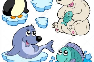 antarctic animals clipart 4