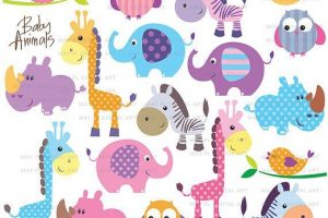 Baby Animals Baby Shower Fresh Zoo Animals Clipart Free Clipart