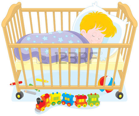 Baby crib clipart 1 » Clipart Station