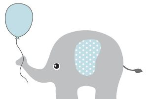 Baby Shower Elephant Clipart 3 Clipart Station
