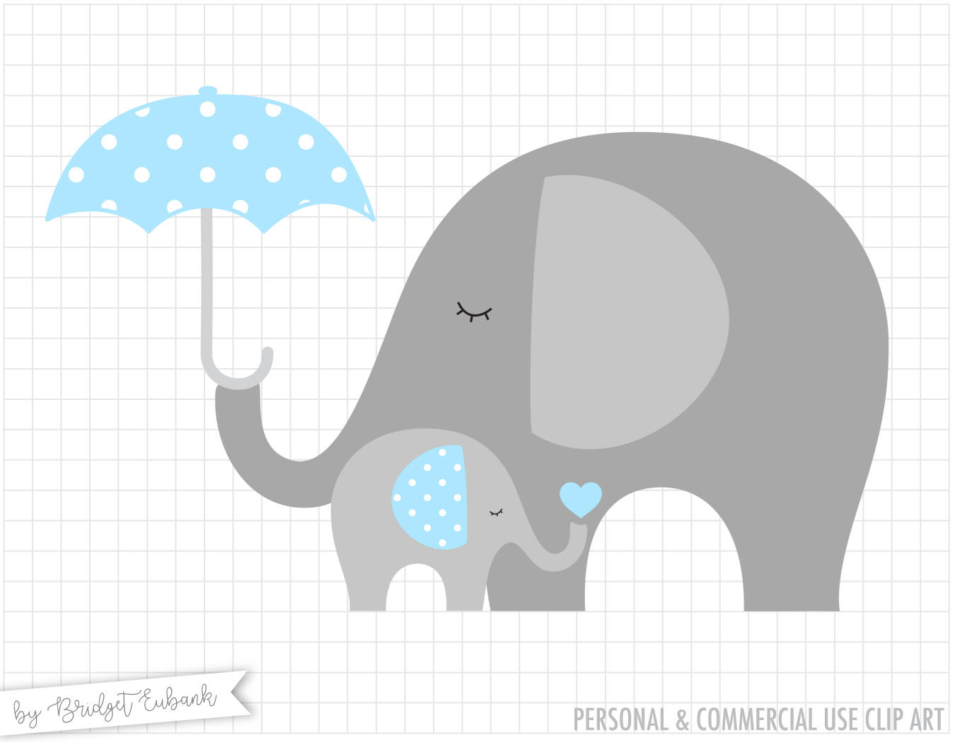 Baby Shower Elephant Clipart 7 Clipart Station