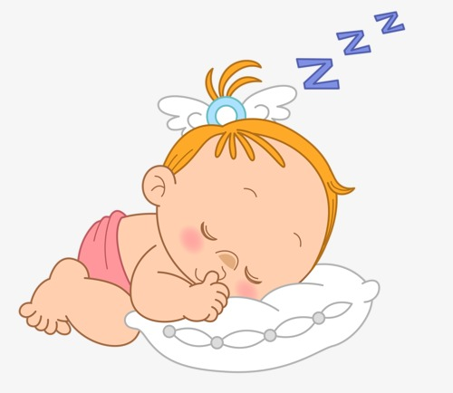 Baby sleeping clipart 7 » Clipart Station