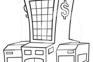 Bank Clipart Black And White 3 Clipart Station