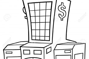 Bank Clipart Black And White 7 Clipart Station