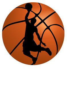 image about Printable Basketball Pictures named Basketball clipart no cost printable 3 » Clipart Station