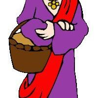 Bible woman. Clipart station