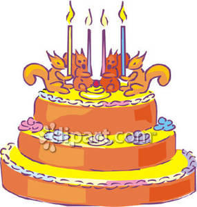 Brilliant Birthday Cake Clipart Animated Clipart Station Personalised Birthday Cards Veneteletsinfo