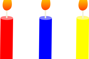 birthday candle clipart 1
