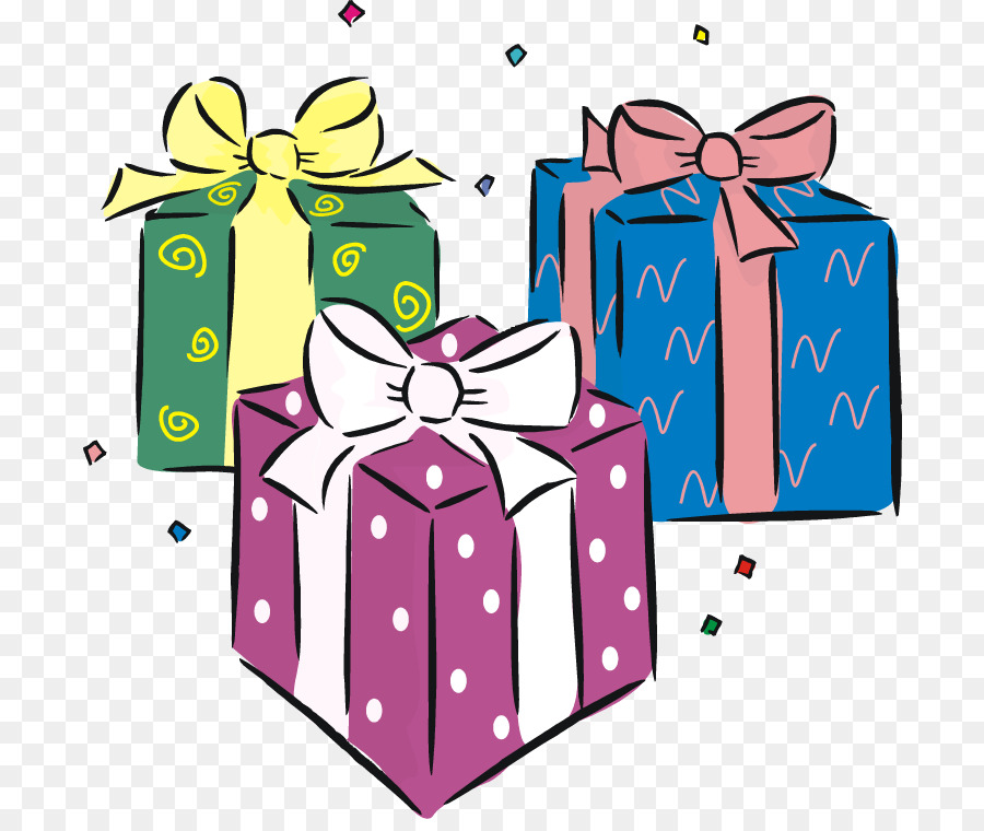 Birthday Gifts Clipart 3