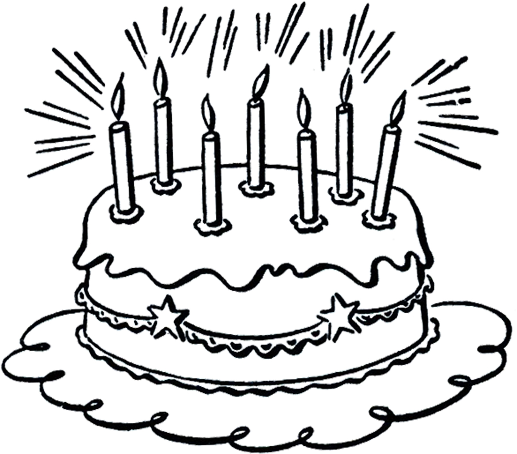 Incredible Birthday Cake Clipart Black And White Fresh Free Clip Art Of Funny Birthday Cards Online Overcheapnameinfo