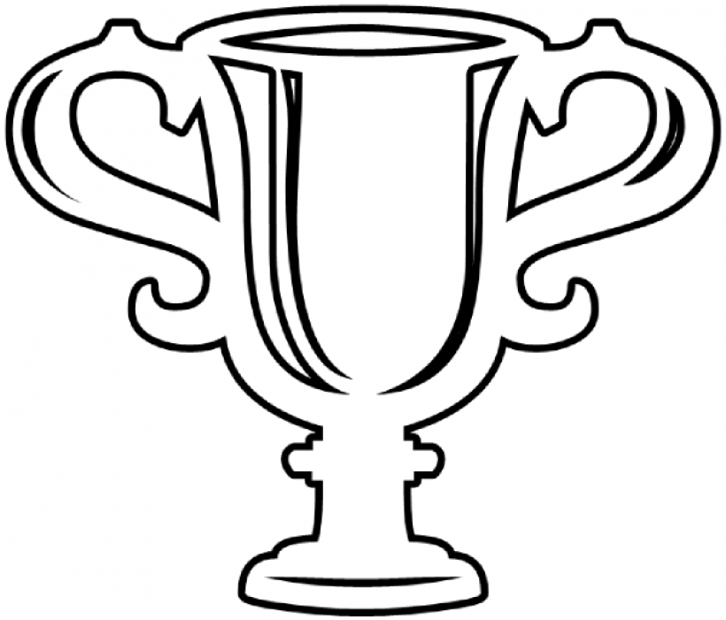 Trophy clipart black and white commercial use trophy clipart