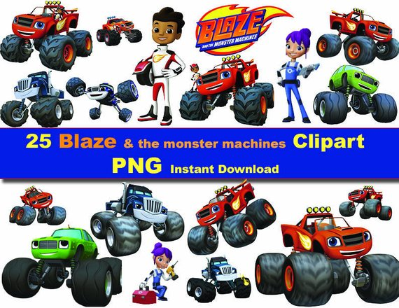 Blaze And The Monster Machines Clipart 1 Clipart Station
