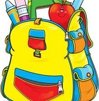 book bag clipart