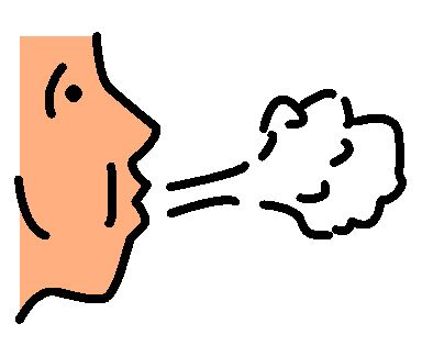 Best of Breathing Clipart clip art of person taking a deep ...