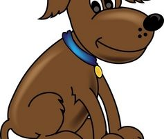 brown dog clipart 1