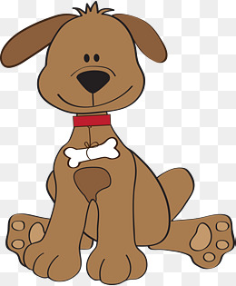 Dog brown. Clipart station