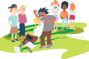 bullying in schools clipart