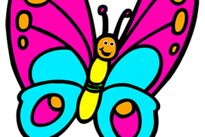 butterfly clipart for kids 1