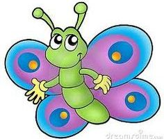 butterfly clipart for kids