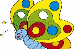 butterfly clipart for kids 3