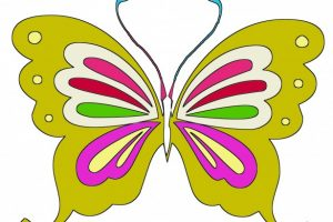 butterfly clipart for kids 4