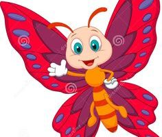 butterfly clipart for kids 5