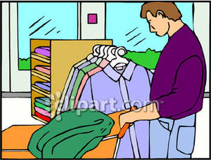 Buying clothes clipart 1 » Clipart Station