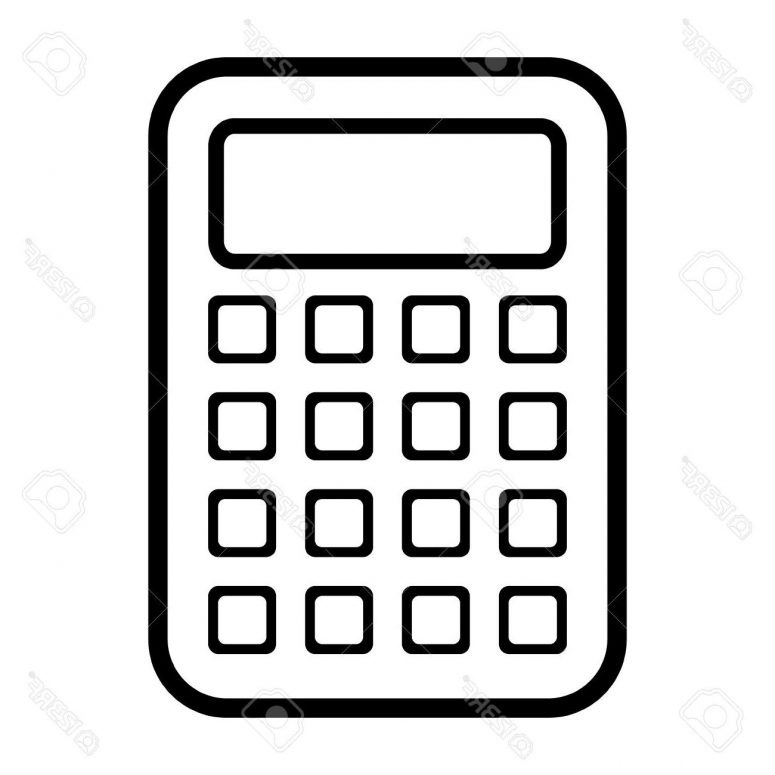 Best Vector Calculator Vector Drawing – Vector Images Stocks And