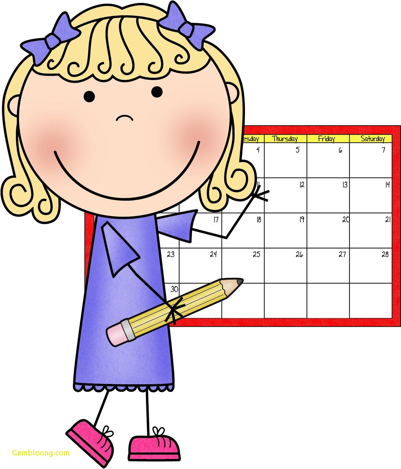Calendar Helper Clipart Lovely Making Inclusion Work 10 tips to help you  before school begins » Clipart Station
