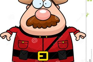 canadian mountie clipart 4