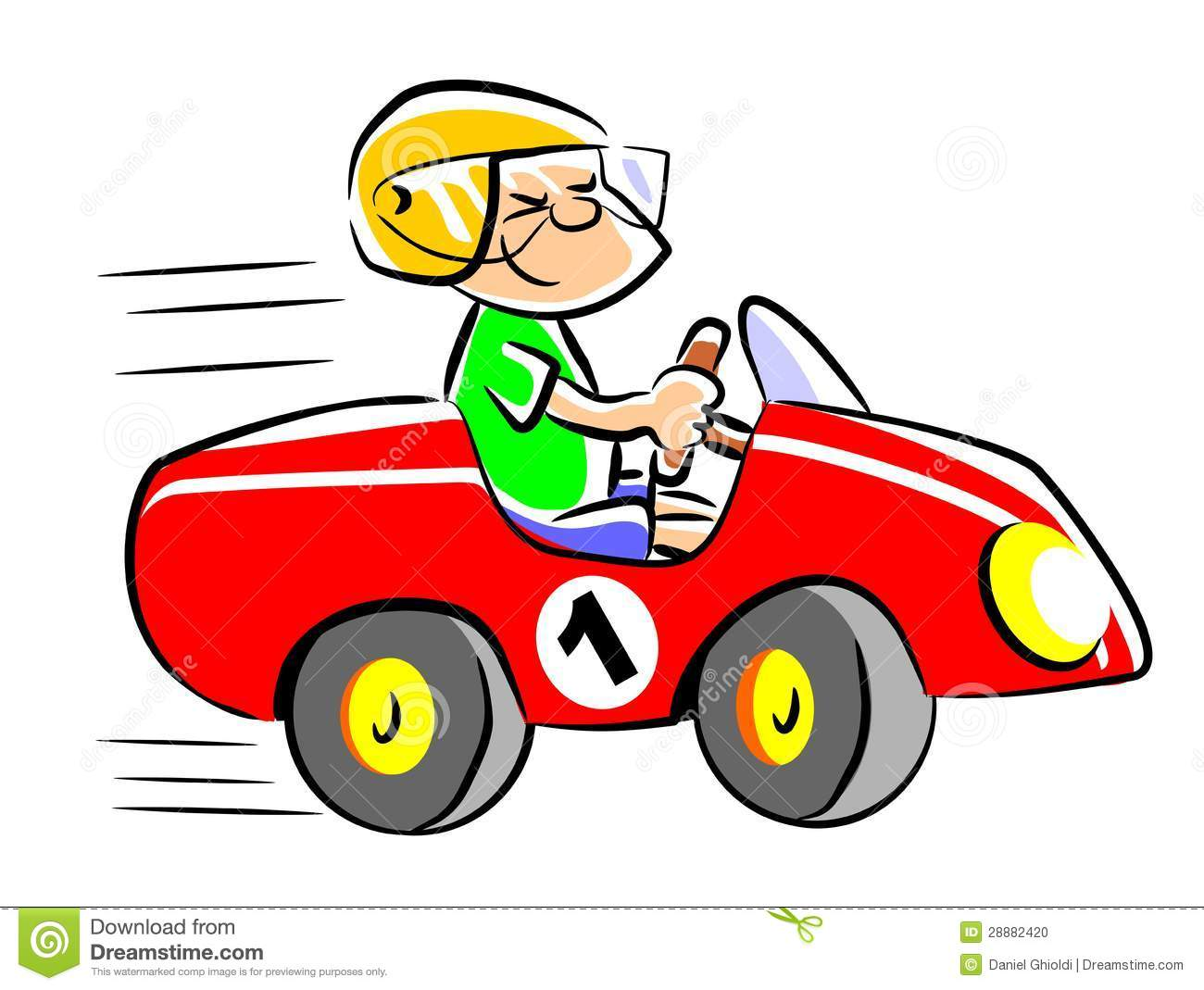 Car driving. Clipart station