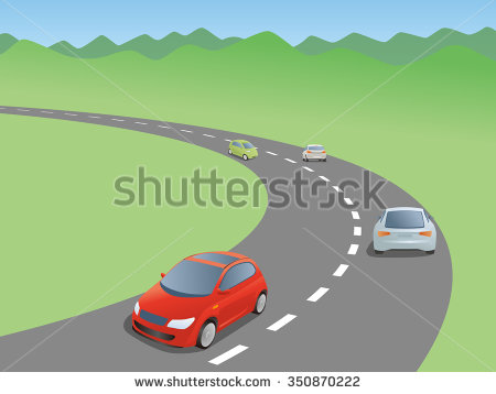 Car On Road Clipart 1 Clipart Station