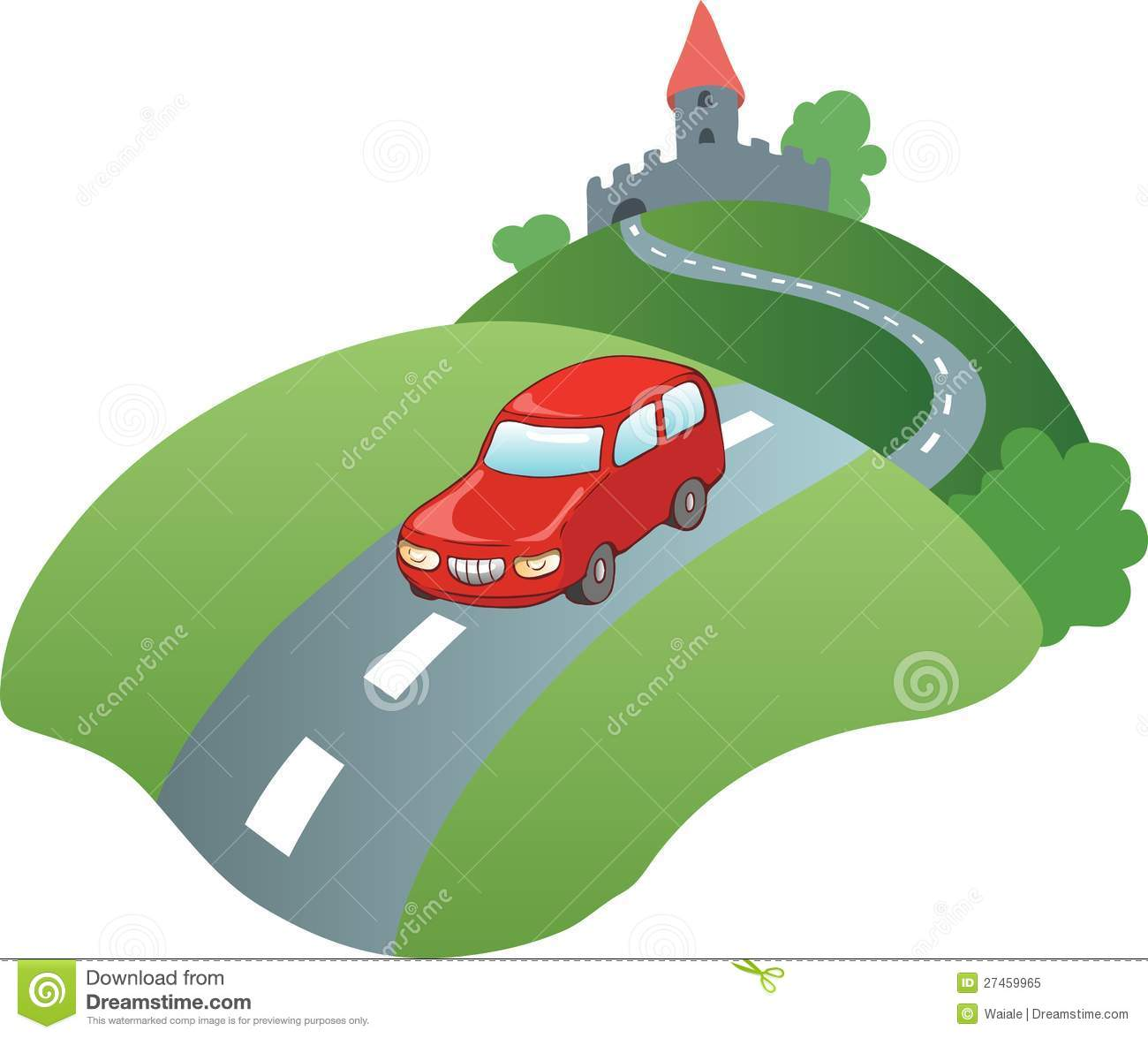 Car Road Clipart Clipart Station