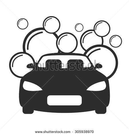 Car Wash Clipart Black And White 1 Clipart Station